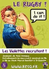 Print affiche promo Violettes