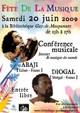 Print Affiche bibliothèques Diogal